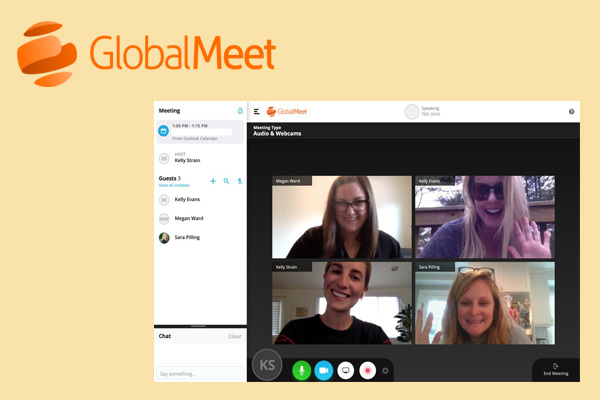 Global Meet безопасная платформа видеоконференцсвязи
