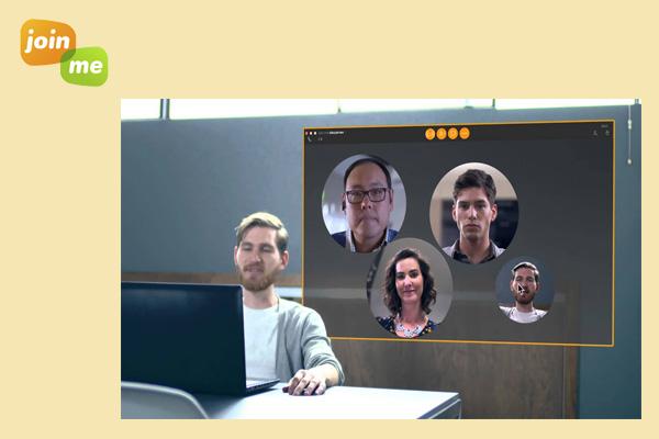 Join.me - приложение для видеоконференций с командой