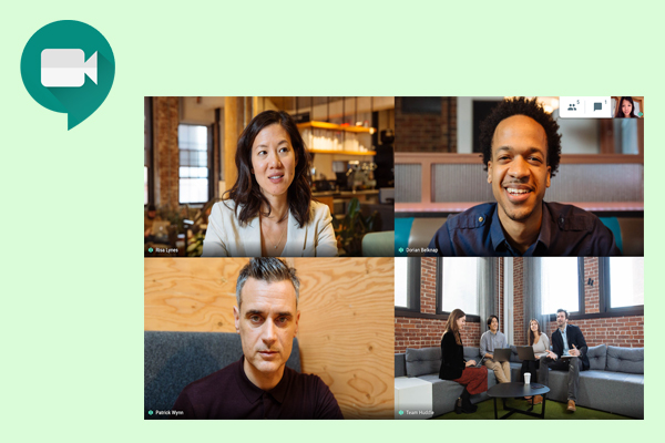 Сервис для видеоконференций и видеозвонков Google Meet