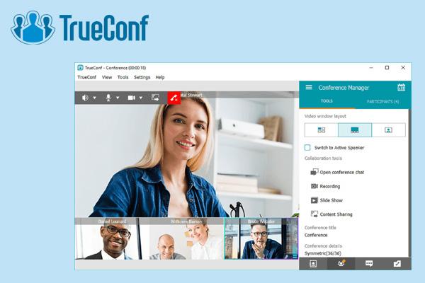 Trueconf приложение для видеоконференций