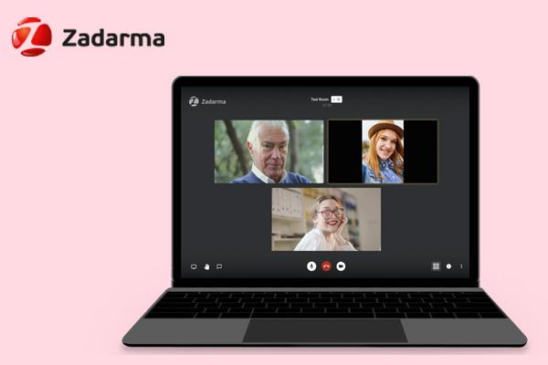 Zadarma приложение для организации видеоконференций