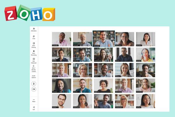 Zoho Meeting приложение для организации видеоконференций