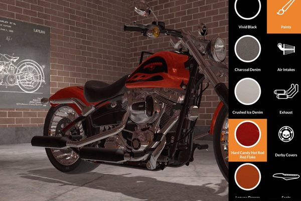 бизнес Harley-Davidson в дополненной реальности