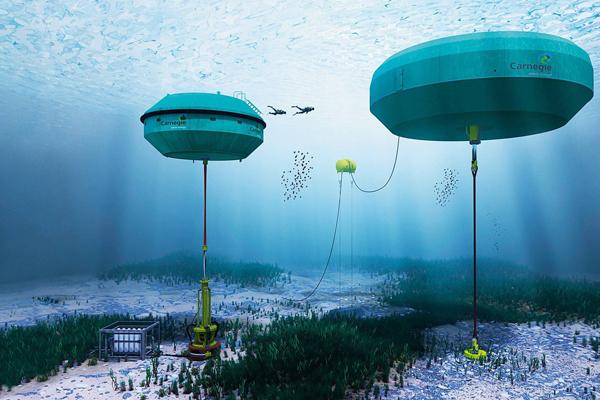 опреснения воды в Австралии - Carnegie Perth Wave Energy