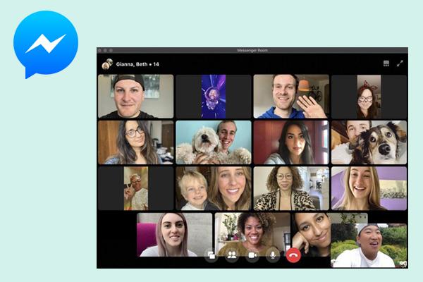 сервис для видеокоммуникаций Facebook Messenger Room