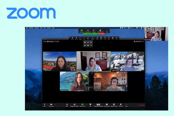 сервис для видеоконференции Zoom