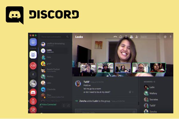видеоконференция в Discord