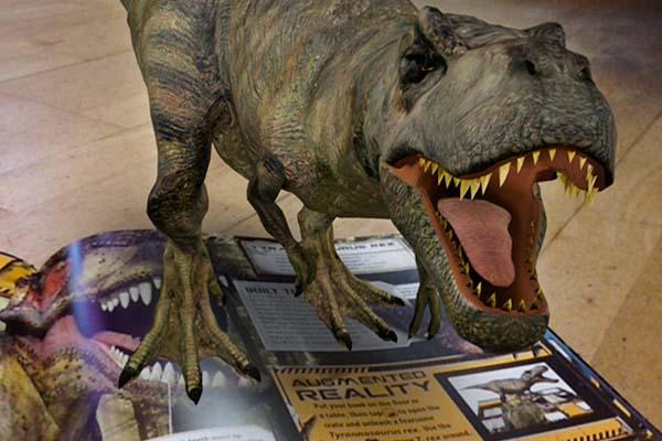 Энциклопедии с дополненной реальностью iDinosaur