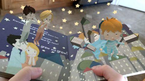Книги с дополненной реальностью — интерактивное чтение в 3D и 4D