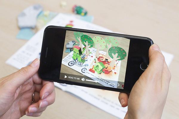 Книги с дополненной реальностью для обучения детей