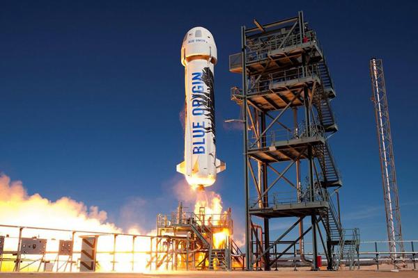 космический туризм с компанией Blue Origin