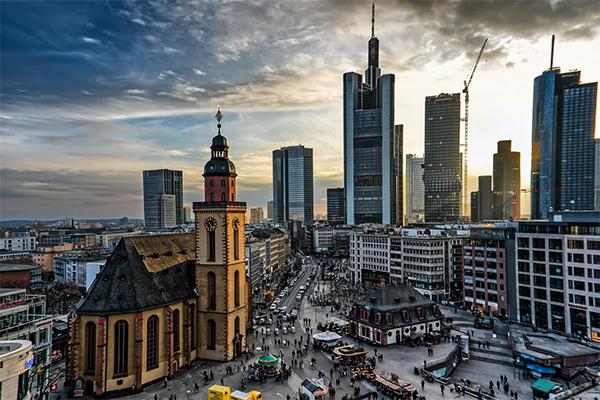Самый высокий уровень урбанизации в Европе