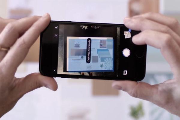 Adobe Scan - распознавание текста телефоном Android либо iOS