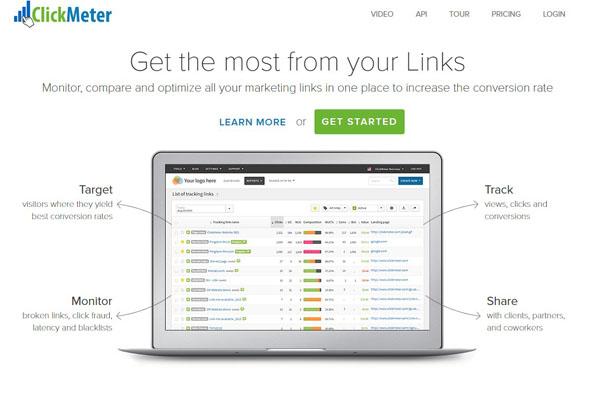 как сделать короткую ссылку онлайн с Clickmeter