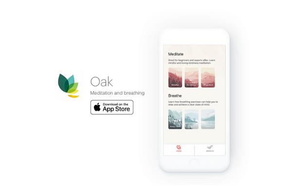 Приложение для медитации Oak